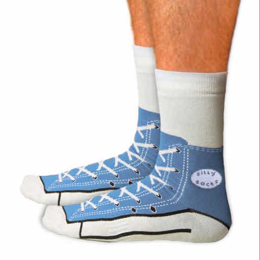 Sneaker sokken gymschoen