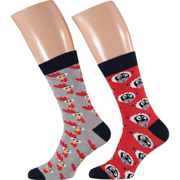 Paas sokken Man